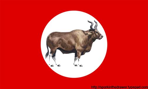 Nazi_auroch_flag